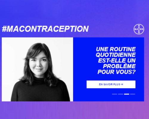 La contraception en Belgique   Campagne par MaGnetik Agency   Case study